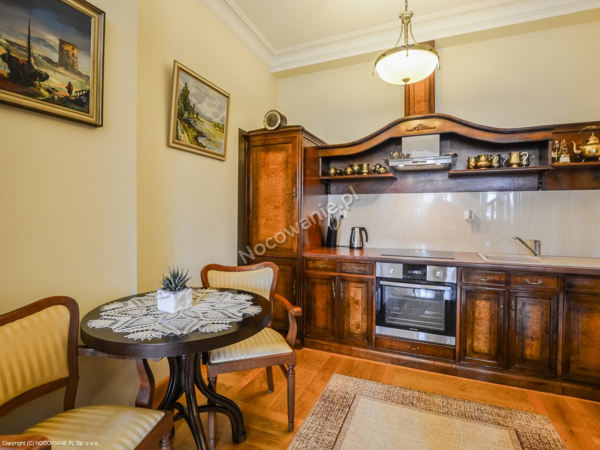 Kitchen in a luxury apartment for rent in Łańcut